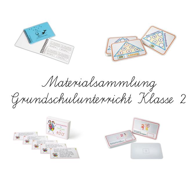 Materialpaket Mathematik Grundschulunterricht Klasse 2 – Übungen mit Lösungen - Mathematik