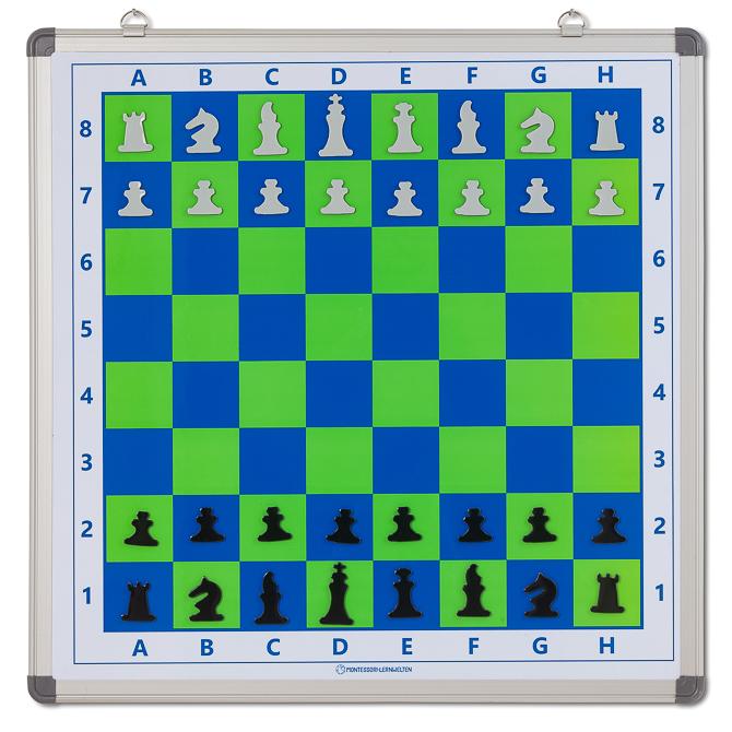 Magnetisches Schachbrett