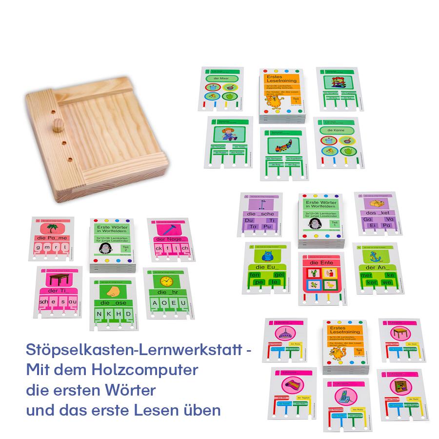 Stöpselkasten-Lernwerkstatt