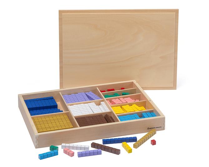Montessori Rechenstäbchen aus Holz