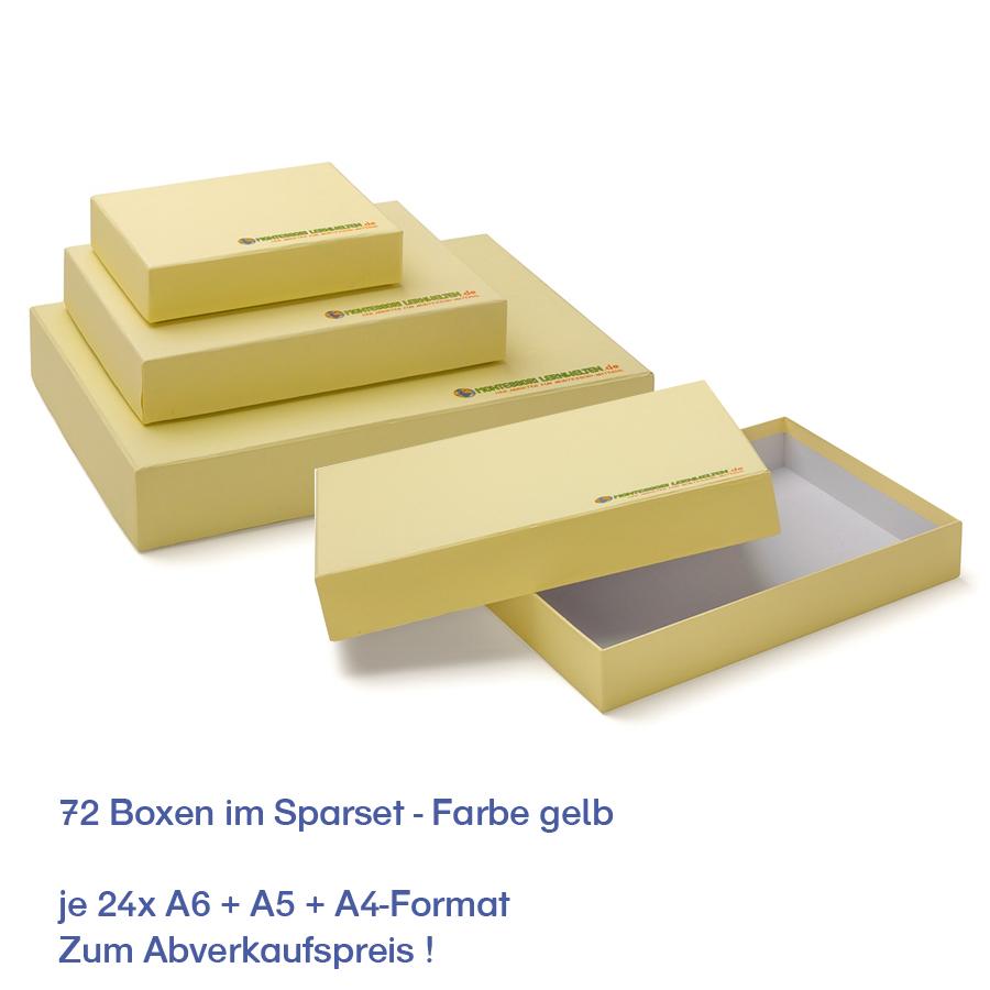 Aufbewahrungsboxen gelb