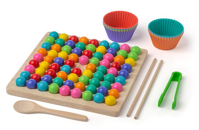 Clip Beads – das bunte Perlenspiel
