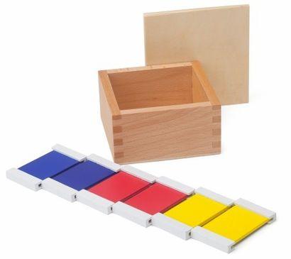 Farbtäfelchen Kasten 1