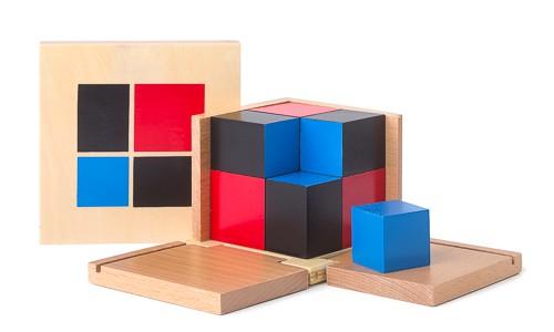 Binomischer Würfel nach Montessori