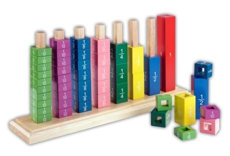 Bruchturm, Bruchtürme, Farbentürme - Montessori Material