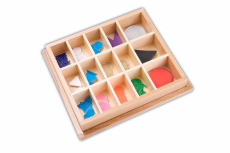 Wortarten-Symbole im Holzkasten
