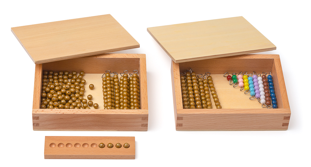 Perlen für die Seguintafeln 1 und 2