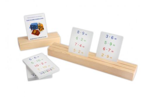 Setzleiste Aufgabenkarten - Kleines Einmaleins