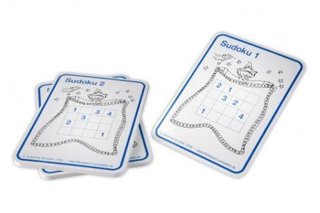30 einfache Sudoku bis 10