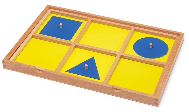 Geometrischer Einführungsrahmen - Montessori Material