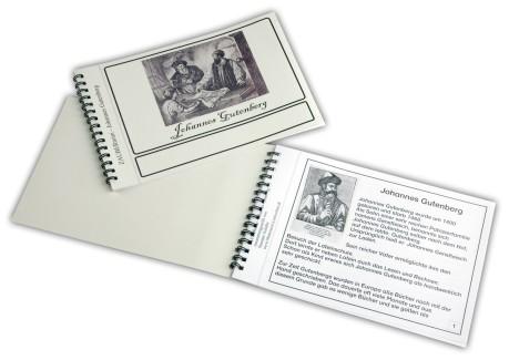 Zaubermini - Johannes Gutenberg