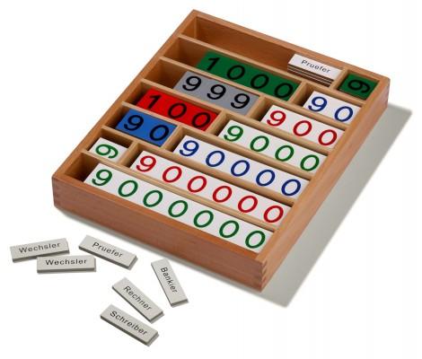 Bankspiel aus Holz