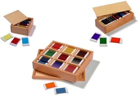 Farbtäfelchen Komplettset 1- 3