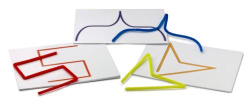 das biegespiel auge hand koordination montessori lernwelten der shop f r montessori material. Black Bedroom Furniture Sets. Home Design Ideas