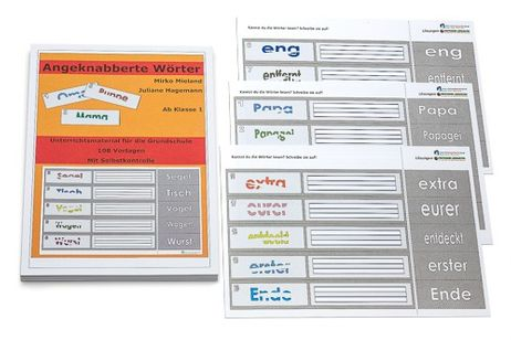 Angeknabberte Wörter - 111 Kopiervorlagen