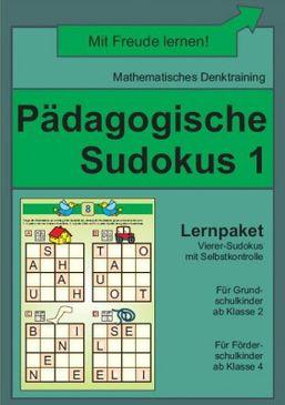 Pädagogische Sudokus 1 (DOWNLOAD)