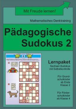 Pädagogische Sudokus 2 (DOWNLOAD)
