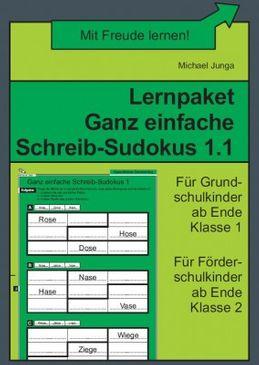 Lernpaket Schreib-Sudokus 1.1 (DOWNLOAD)