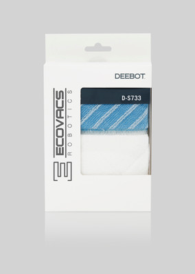 D-S733 - Reusable, moist / dry cleaning cloths for DEEBOT M85S, R95, R96, R98, M88, M81, N78D - 3 pieces – Bild 2