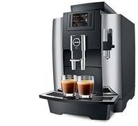 Kaffeespezialitäten für den Arbeitsplatz. Die WE8, der elegante Professional-Vollautomaten überall dort die Ideallösung, wo täglich ca. 30 Kaffeespezialitäten genossen werden. Alle Artikel von Jura bieten wir derzeit ausschließlich stationär in unserem Ladengeschäft in 83734 Hausham, Alte Tegernseer Str. 39, Tel. 08026976620, an.