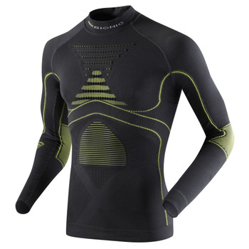 X Bionic Men Energy Accumulator EVO Shirt - grau-gelb