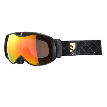 Salomon Skibrille X-Tend 12 small ML schwarz gemustert