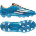 adidas F10 TRX HG J solar blue solar zest running white