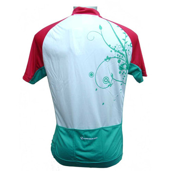 Nakamura Damen Fahrrad-Trikot Marina weiß grün rot – Bild 2