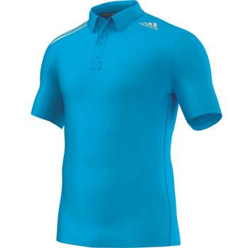 adidas Men Climachill Polo solar blue