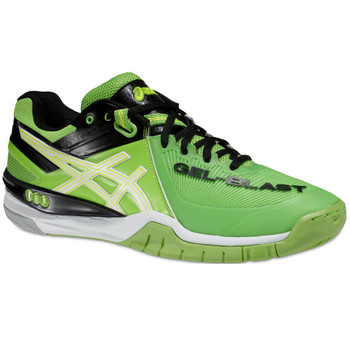 Asics Gel-Blast 6 neon green white black