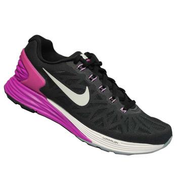 WMNS Nike Lunarglide 6 schwarz-pink