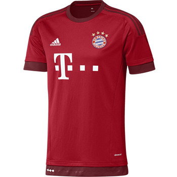 adidas FC Bayern Home Jersey fcb true red/craft red – Bild 1