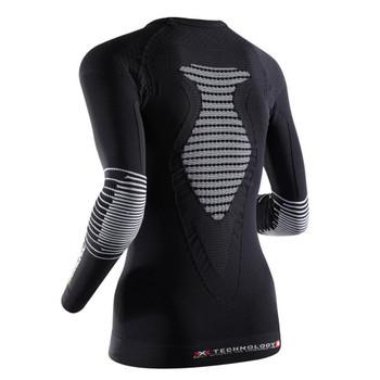 X-Bionic Energizer MK2 Lady Shirt schwarz weiss – Bild 2