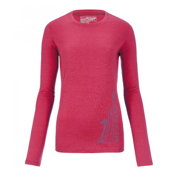 Ortovox Long Sleeve W pink