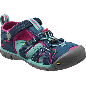 Keen Mädchen Sandale Seacamp II CNX Children blau pink – Bild 2