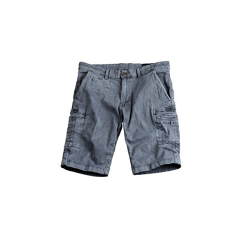 Apha Industries Herren Short Deck Short grau
