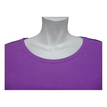 Schneider Sportswear Damen Shirt Delilahw  lila – Bild 2