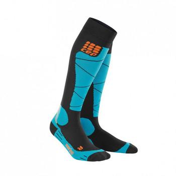 CEP Ski Merino Socks blau schwarz