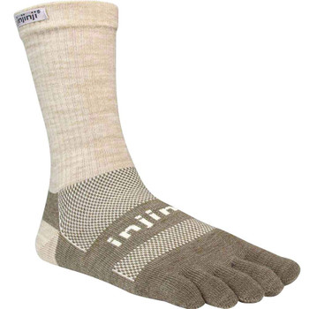 injinji Zehensocken Outdoor Original Weight Crew beige