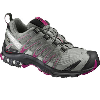 Salomon Damen Outdoorschuh XA Pro 3D W grau