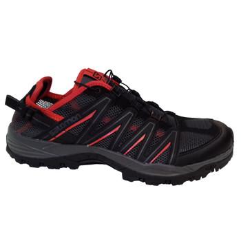 Salomon Lakewood Herren Outdoor Schuhe Multifunktion schwarz rot – Bild 1