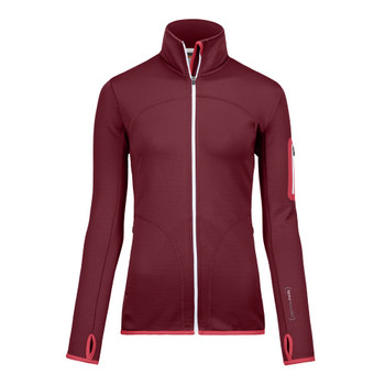Ortovox Damen Fleece Jacket W bordo