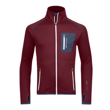 Ortovox Herren Fleece Jacket M bordo