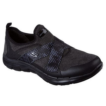 Skechers Damen Flex Appeal 2.0 Bright Eyed schwarz