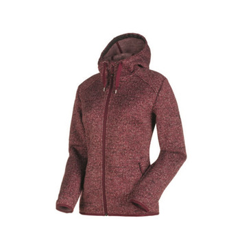 Mammut Chamuera ML Hooded Jacket Women dunkelrot