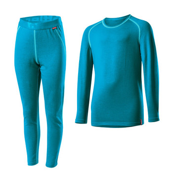 Löffler Kinder Set Transtex warm blau