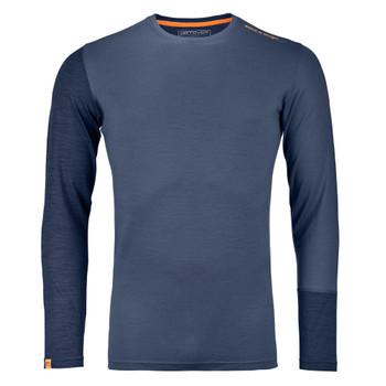 Ortovox Herren Long Sleeve M blau