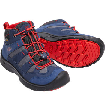 Keen Kinder Hikeport Mid WP Y blau – Bild 3