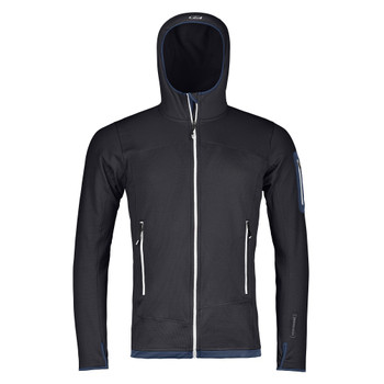 Ortovox Merino Fleece Light Hoody Men schwarz
