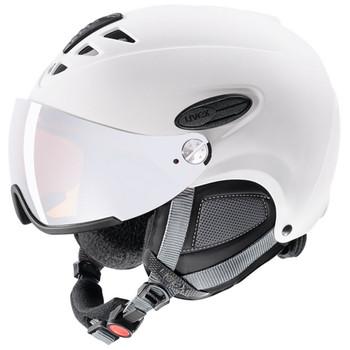 Uvex Skihelm hlmt 300 visor weiß matt